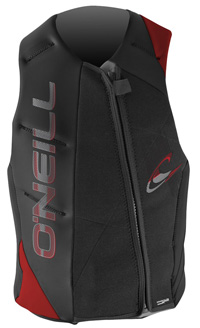 O'Neill - Revenge USCG Vest - Black/Red