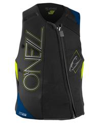 O'Neill - Revenge Comp Vest - Blk/Blue/Yel