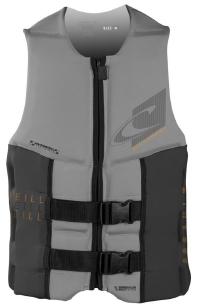 O'Neill - Assault LS USCG Vest Flint/Graphite