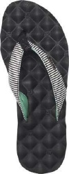 Reef Sandals - Dreams Print White/Black - Women's Sandal