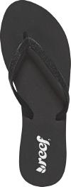 Reef Sandals - Stargazer Deluxe Black/Black - Women's Sandal