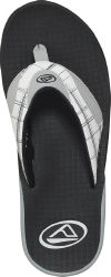 Reef Sandals - Fanning Prints White/Plaid - Men's Sandal