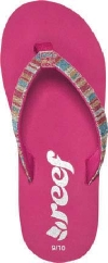 Reef Sandals - Little Stargazer Luxe/Hot Pink - Kid's Sandal