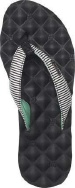 Dreams Print White/Black - Women's Sandal