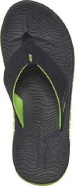Reef Sandals - Rodeo Flip  Black/Lime Green - Men's Sandal