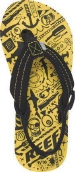 Ahi Yellow Monsters - Kid's Sandal