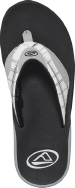 Fanning Prints White/Plaid - Men's Sandal