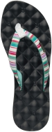 Reef Sandals - Dreams Prints Black/Aqua/Stripes - Women's Sandal
