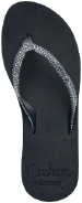 Star Cushion SASSY/Black - Women's Sandal