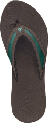 Reef Sandals - Zen Fun Brown/Blue - Women's Sandal