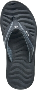 Reef Sandals - Phantom Flight Black/Silver - Men's Sandal