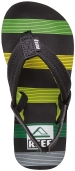 Reef Sandals - Ahi Green Horizons - Kid's Sandal