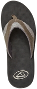 Reef Sandals - Fanning TX Black/Dark Grey - Men's Sandal