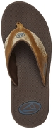 Reef Sandals - Fanning TX Dark Brown/Gum - Men's Sandal