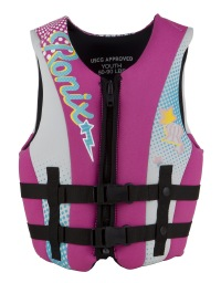 Ronix - August Girl's Front Zip CGA Life Vest