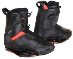 2012 One Black/Caffeinated Red Wakeboard Bindings
