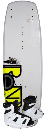 Ronix - 2012 District 138 w/District Wakeboard Package