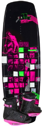 Ronix - 2012 Quarter Til Midnight 138 w/Halo Wakeboard Package