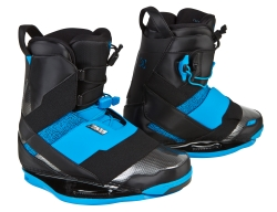 Ronix - 2013 One Black/Azure/3D Wakeboard Bindings