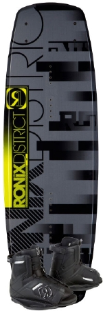 Ronix - 2013 District 134 w/Divide Wakeboard Package