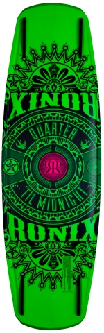 Ronix - 2013 Quarter Til Midnight 130 w/Luxe Wakeboard Package