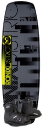 Ronix - 2013 District 138 w/Divide Wakeboard Package