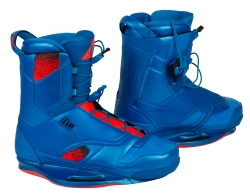 Ronix - 2014 Frank Wakeboard Bindings - Blue Hawaiian / Lava Flow