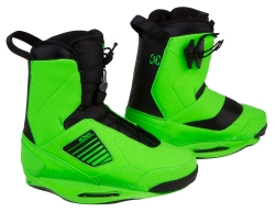 Ronix - 2014 One Psycho Green Wakeboard Bindings