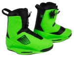 2014 One Psycho Green Wakeboard Bindings