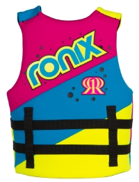 2014 August Girl's Front Zip CGA Life Vest