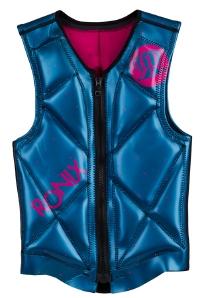 Ronix - 2014 Coral Impact Women's Reversible Front Zip Impact Jacket