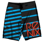 Ronix - Mariano's Stripes Tight & Right Boardshort Black/Blue