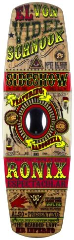 Ronix - 2014 El Von Videl Schnook 136.3 - Cable Nu Core