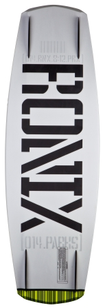 Ronix - 2014 Parks Camber Modello 139 Wakeboard - Arctic White/Vader