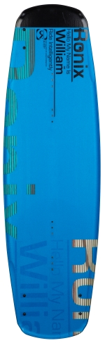 Ronix - 2014 William Intelligent Core 145 - Metallic Gemstone Blue