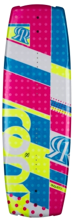 Ronix - 2014 August 120 Wakeboard - Sparkly Rainbow