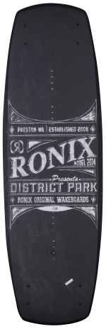 Ronix - 2014 District Park 134 Wakeboard - Chalkboard/Azure