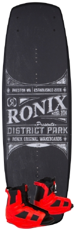 Ronix - 2014 District Park 143 w/District Wakeboard Package