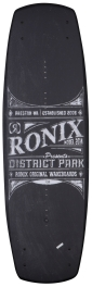 Ronix - 2014 District Park 138 Wakeboard - Chalkboard/Azure