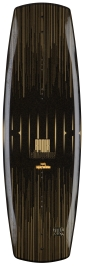 Ronix - 2014 Faith Hope Love 136 Wakeboard - Caviar/Golden