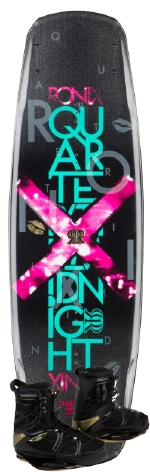 Ronix - 2014 Quarter Til Midnight 135 w/Faith Wakeboard Package