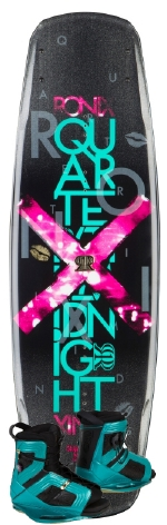 Ronix - 2014 Quarter Til Midnight 130 w/Halo Wakeboard Package