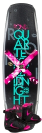 Ronix - 2014 Quarter Til Midnight 130 w/Luxe Wakeboard Package