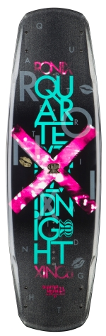 Ronix - 2014 Quarter Til Midnight 130 Wakeboard - Metallic Peacock