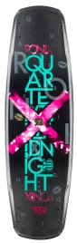 Ronix - 2014 Quarter Til Midnight 135 Wakeboard - Metallic Peacock