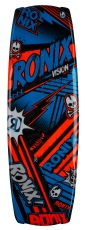 Ronix - 2014 Vision 120 Wakeboard - Metallic Blueberry/Juice Orange