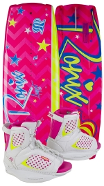 Ronix - 2015 August 120 w/August Wakeboard Package