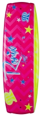 2015 August Wakeboard - Sparkly Pink/Blue