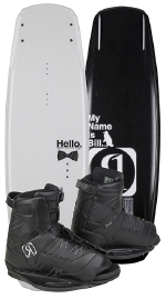 Ronix - 2015 Bill ATR S 140 w/Divide Wakeboard Package