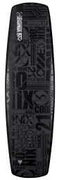 2015 Code 21 Modello 143 Wakeboard - None More Black
